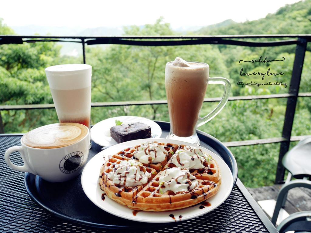 石碇千島湖一日遊行程咖啡館推薦海倫咖啡 (2)