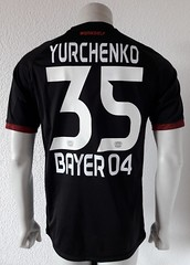 Vladlen Yurchenko,  Bayer 04 Leverkusen 16/17, match worn shirt