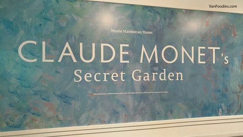 Claude Monet Secret Garden at Vancouver Art Gallery