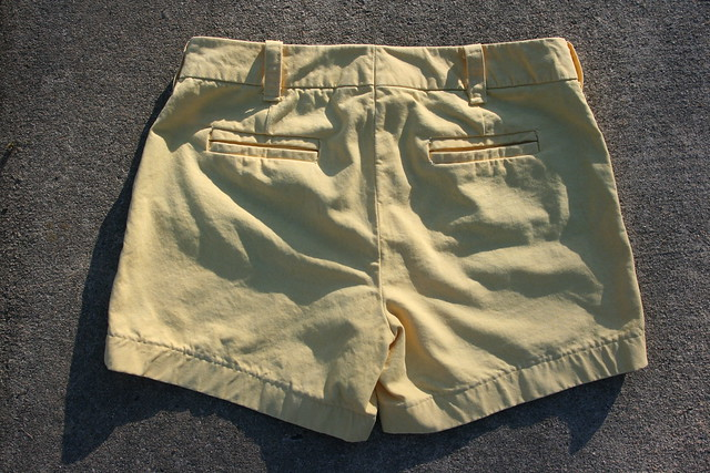 Thurlow Shorts in Tinted Denim