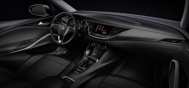 Opel Grandland X: Interior Design