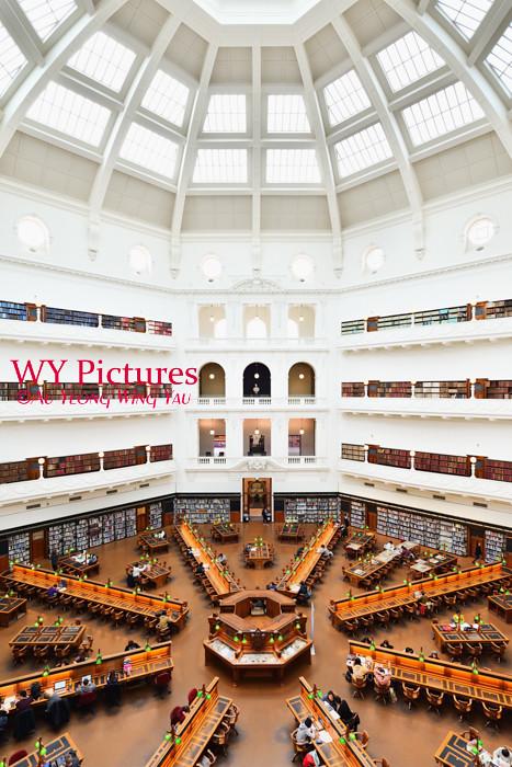 Melbourne 2017:  State LIbrary Of Victoria The La Trobe Reading Room 2