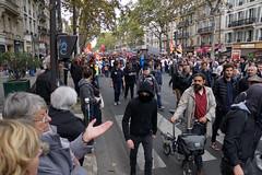 Paris protest, 10-10-2017-No 6