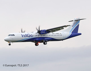 F-WWEF First ATR72-600 for Indigo VT-IYA