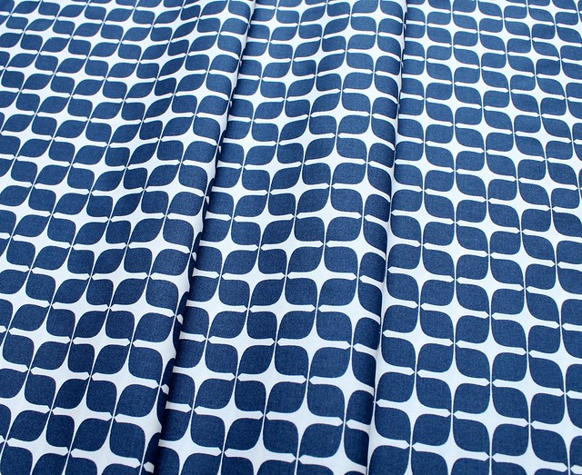 Art Gallery Fabrics Blush Mod Paper Indigo