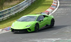 Lamborghini auf dem Nürburgring