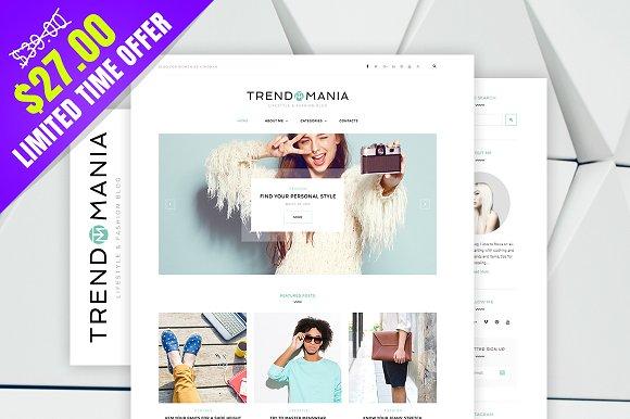 Trendomania v1.0.0 – Lifestyle & Fashion Blog