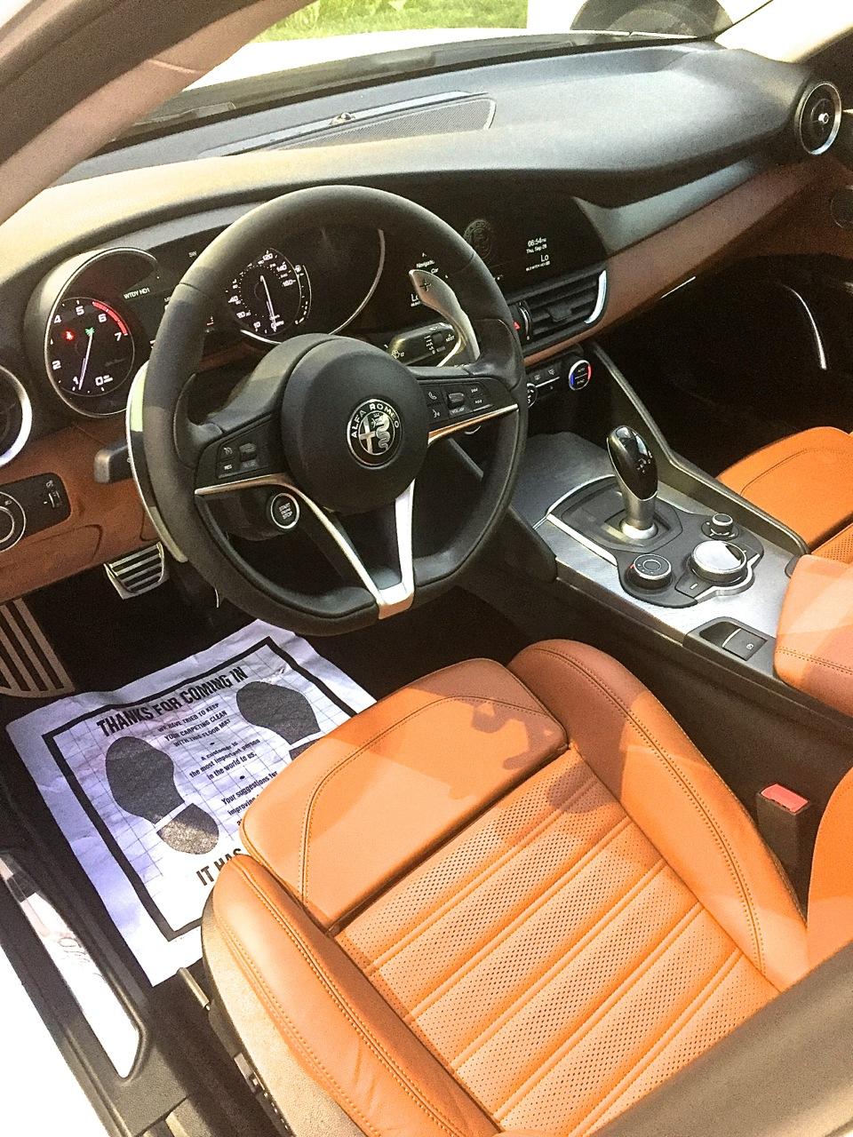 Alfa Romeo Giulia Ti AWD 1
