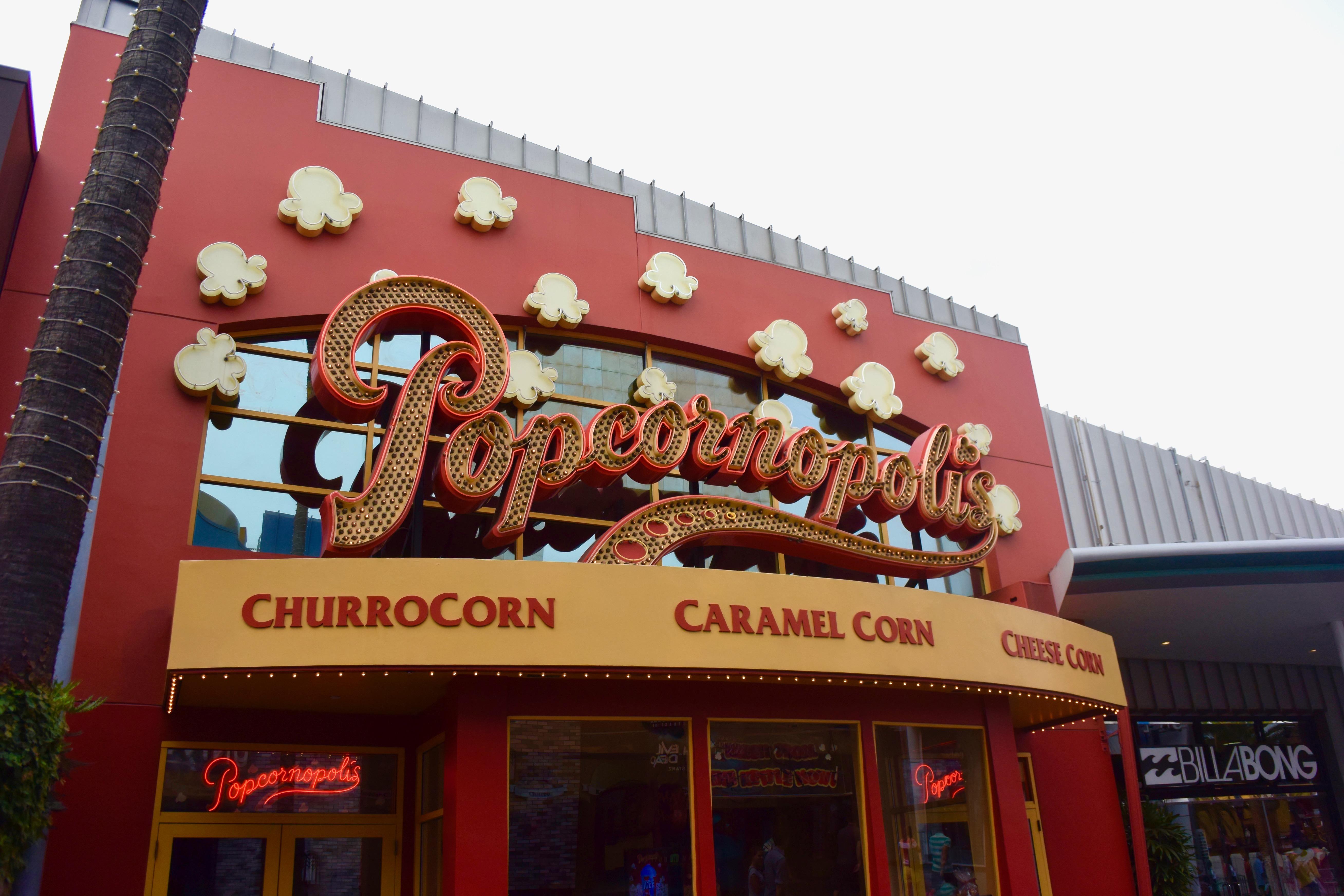 Universal Studios Hollywood - Popcorn