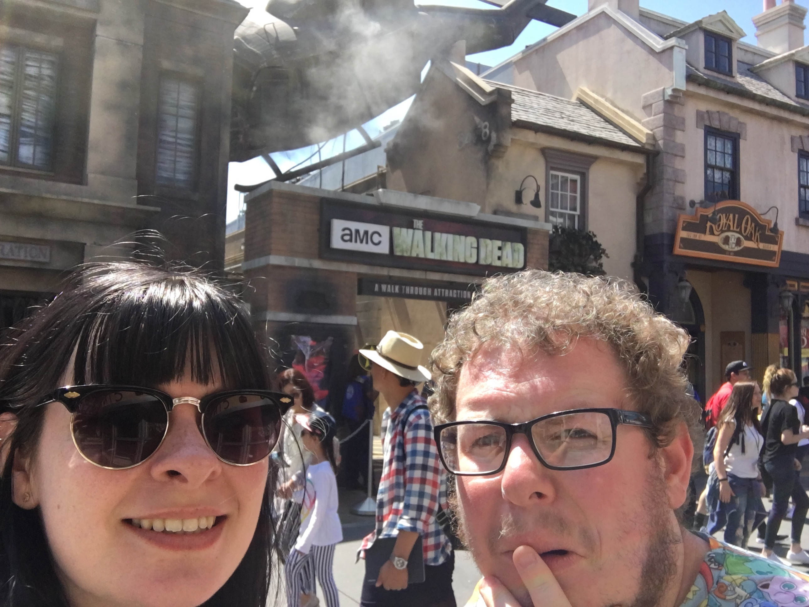 Universal Studios Hollywood - walking dead