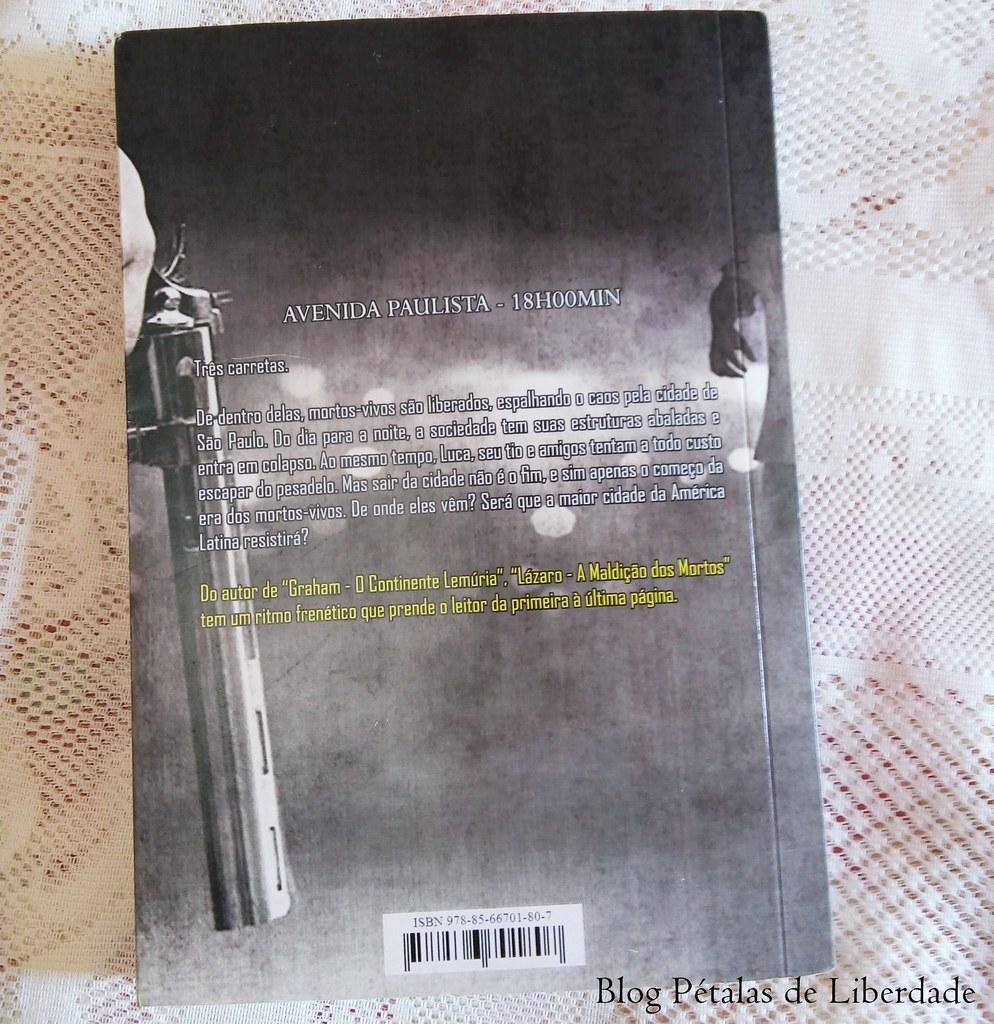 """Resenha: livro """"Lázaro - A maldição dos mortos"""", A. Wood, Editora Selo Jovem, sinopse, zumbis"""