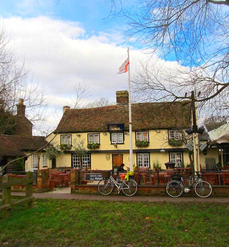 Fort St George pub, Cambridge. Credit Wheeltapper