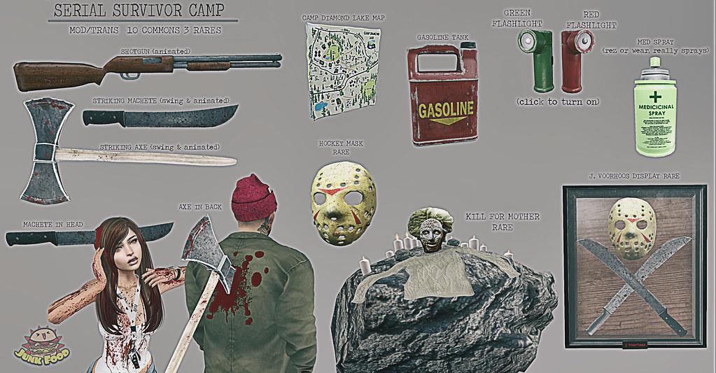 Junk Food - Serial Surviver Camp Gacha - TeleportHub.com Live!