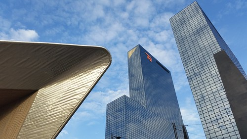 Skyscrapers in Rotterdam