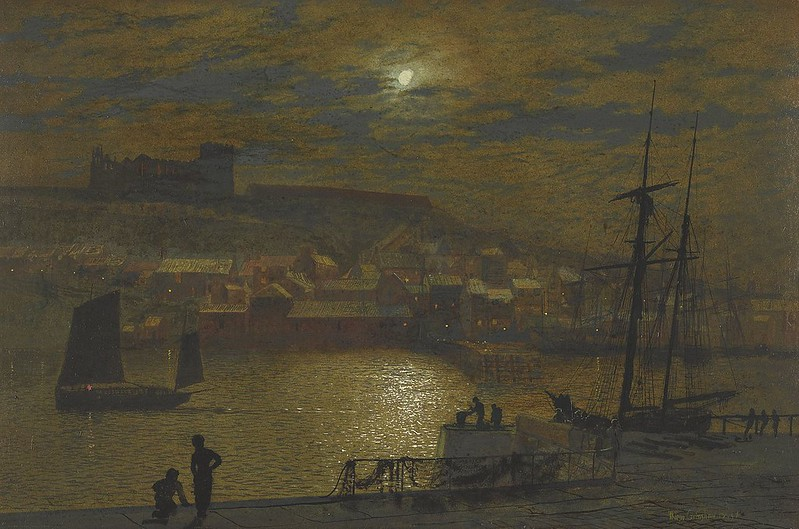 Whitby by John Atkinson Grimshaw, 1878