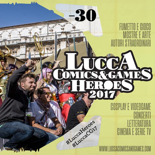 Lucca Comics e Games 2017 Countdow