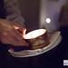 Flambée à l'eau de vie