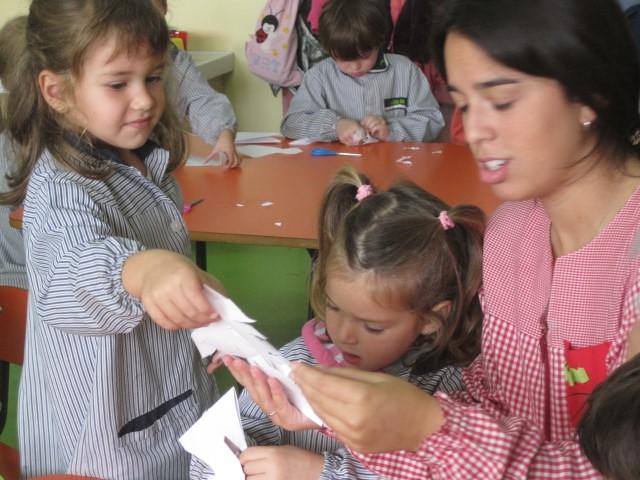 P4C La Laura ens fa mandales de paper