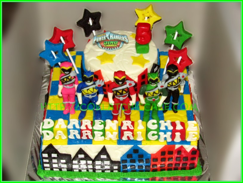 Cake Power Rangers Darren Richie
