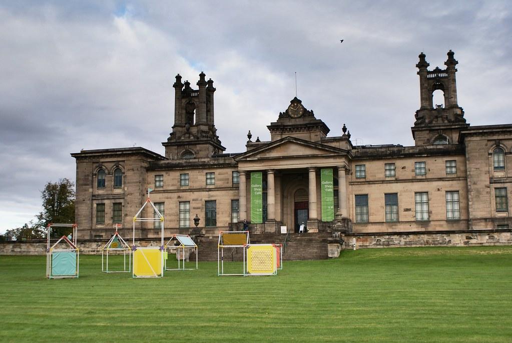L'autre batiment du musée d'art contemporain d'Edimbourg.