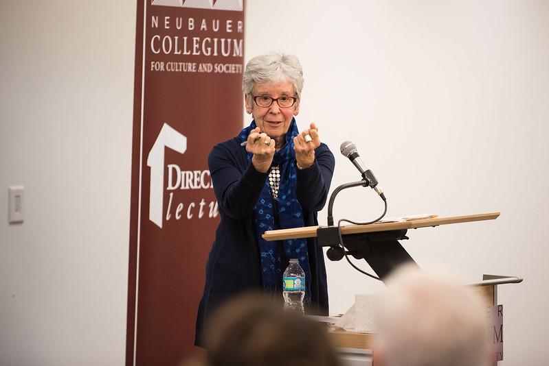 "Oct 19, 2017: Joan Scott on ""Gender, Politics, and Psychoanalysis"""