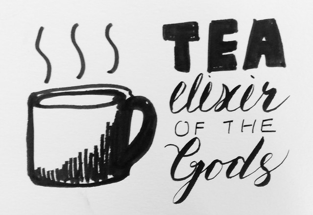 Tea, Elixir of Gods