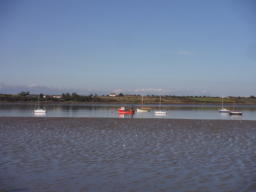 Boats and the Isle of Harty