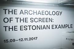 BEAF 2017 The Archeology of the screen : The Estonian Example