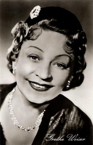 Grethe Weiser in Die tolle Lola (1954)