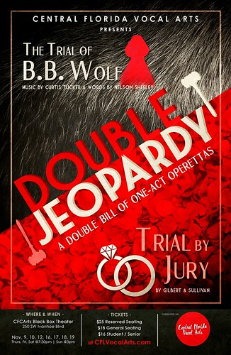 """Double Jeopardy"" – A Pair of One-Act Operettas"