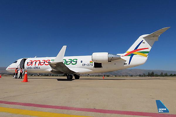 Amaszonas CRJ200 (F.Ruiz)