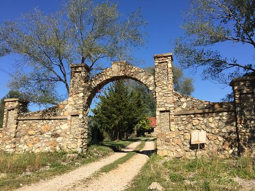 Rock arch, Bourbon, MO