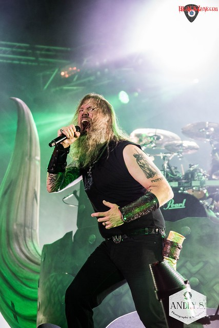AMON AMARTH @ METALDAYS 2017 [Tolmin]