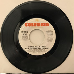 FANIA ALL-STARS:ELLA FUE(SHE WAS THE ONE)(RECORD SIDE-B)