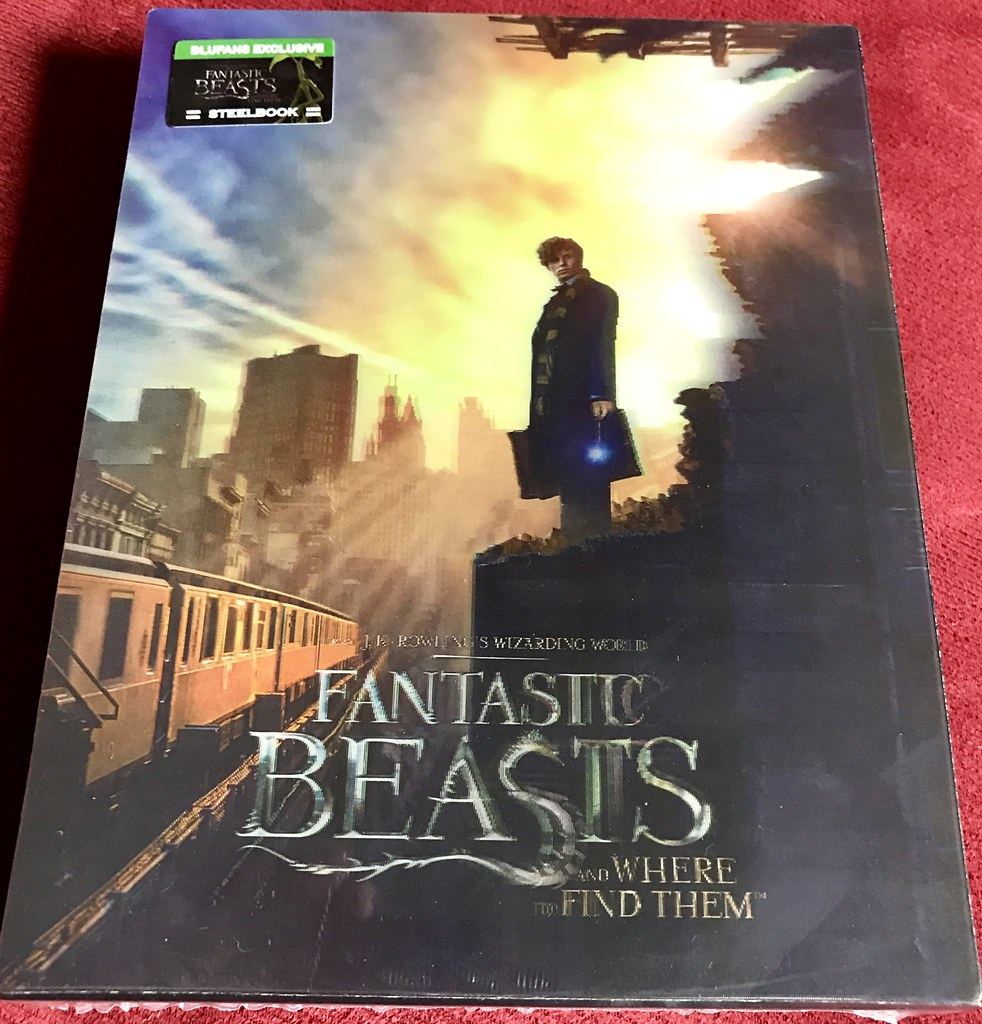 Fantastic Beast and Where to Find Them - Blufans Double Lenticular - Media Psychos