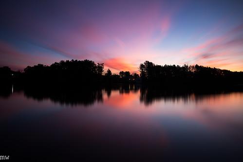 merrimackriver northchelmsford chelmsford longexposure 6d river clouds sunrise