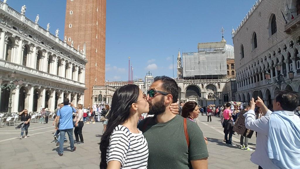 Io e Andre a Venezia