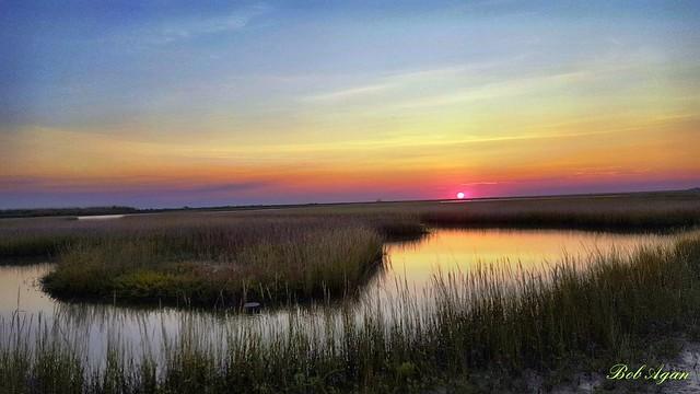 Galveston sunset.
