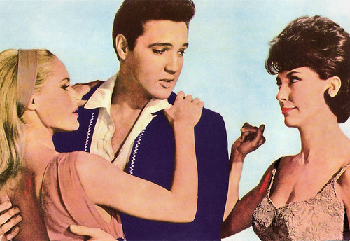 Ursula Andress, Elvis Presley and Elsa Cardenas in Fun in Acapulco (1963)