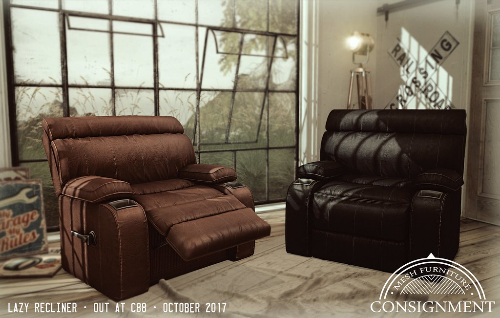 Lazy Recliners - Consignment for c88 - TeleportHub.com Live!