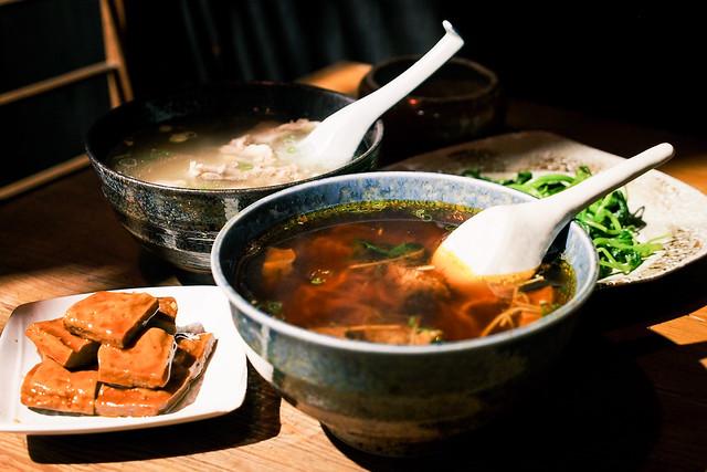 一碗小|花蓮市區-日式老房吃牛羊肉麵/黑糖粉圓必點