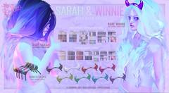 .Olive. the Sarah & Winnie Hair Gacha @ Epiphany