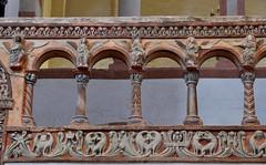 Hildesheim, Niedersachsen, Michaeliskirche, west choir, north arcade