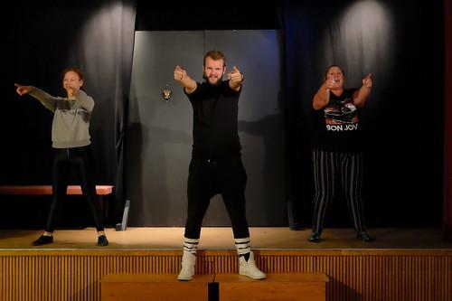 Jaana Salo, Marcus Fyrberg och Marthina Sjöström