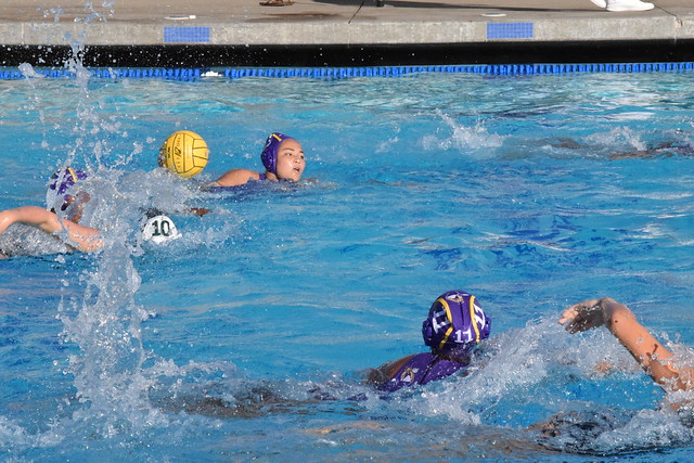 Girls Water Polo Against Harker HS