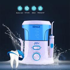 600ml Dental Teeth SPA Flosser Oral Irrigator Water Jet Floos Tooth Cleaning Pick (1112836) #Banggood