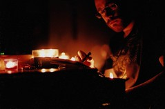 Writing Songs by Candlelight