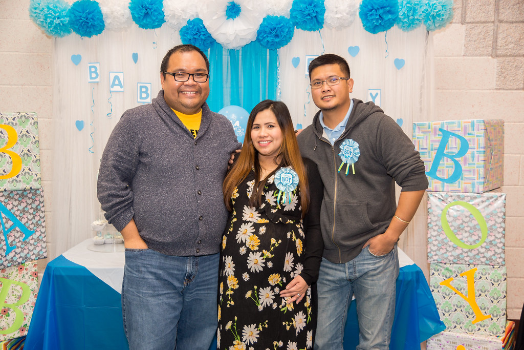 Macel and Bok Baby Shower