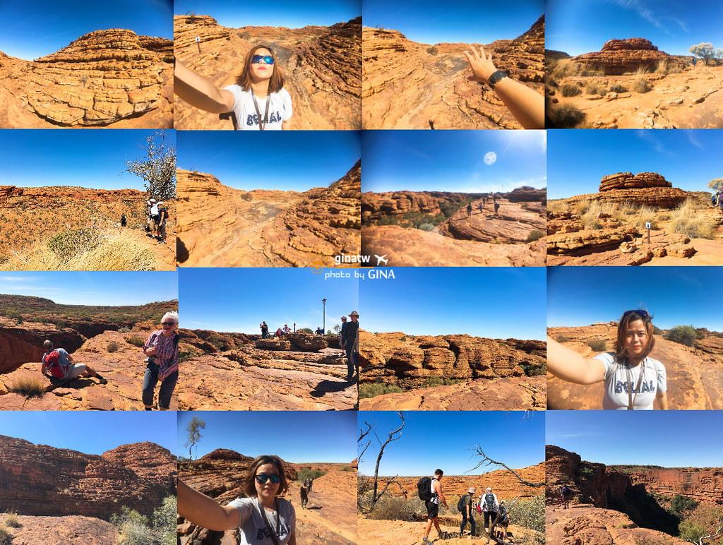 【澳洲國王峽谷國家公園】烏魯魯必來!北領地挑戰人體極限烈日中行|瓦塔卡國家公園|國王峽谷渡假村(Kings Canyon) @GINA環球旅行生活