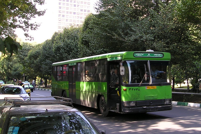 Local Bus in Tehran